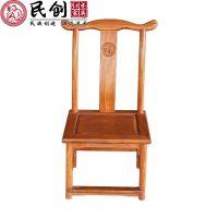 东阳民创红木家具小件厂家直销非洲花梨木实木小椅子儿童小孩椅子