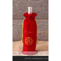 北京高档白酒袋帆布包装袋抽绳束口袋厂家定做