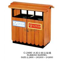 木质分类垃圾桶厂家 木质创意垃圾桶图片 垃圾桶定制价格