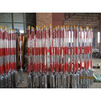 不锈钢双层隔离带栏杆 2米伸缩带 华建电力机具