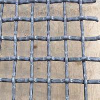 【专业生产】矿山专用盘条编织轧花网