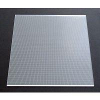 雕刻导光板/LED平板装饰照明专用亚克力导光板/3D雕刻导光板/防水