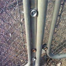 体育场护栏 学校护栏网现场安装 矿用支架网