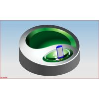 定制静音旋转手机展示架_无噪音电动转台齿轮箱设计制造厂