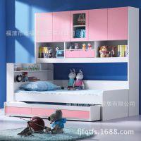 款 两层组合 衣柜床 板式 儿童套房 JA-S6#-HL 添福顺