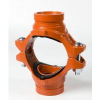 厂家直销平阴迈克衬塑管件/玛钢管件/的沟槽管件