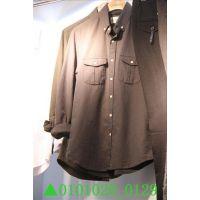 2014秋装新款韩国代购东大门女装正品批发男式纯色长袖衬衫打底衫