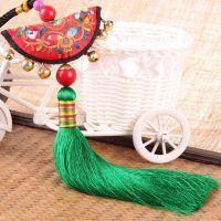 新款原创民族风中国风流苏挂件 车饰 家居包包挂件 多色可选