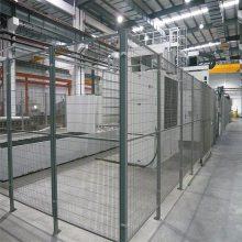 成都圈墙铁丝网片 工厂围墙网 圈鱼塘防护网