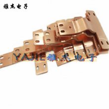 汽车连接片,电池铜排导电带,铜软连接片,动力机械导电连接片