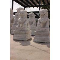 石狮子门墩、石狮子、大石代雕塑