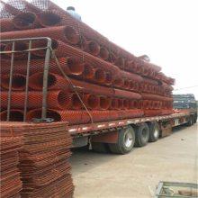 100刀菱形钢板网 染漆圈玉米钢板网 定做1.8米高圈玉米网