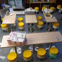 深圳运达来家具 定制简约现代快餐桌椅 快餐厅家具工程 食堂餐桌椅批发