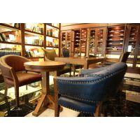 美式咖啡厅椅子复古咖啡厅椅子定做