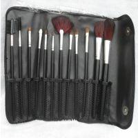 特价黑皮 便携12件套化妆刷 彩妆刷 限量组!送刷包 (影楼专用)