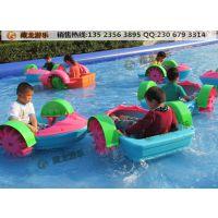 水上手摇船,小孩一个人坐的塑料船多少钱?儿童手划船多少钱一条?