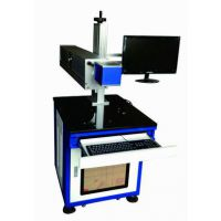 重庆自动打标扫描汽车发动机二维码光纤激光打标机(万霆激光)
