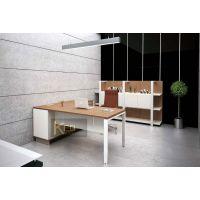 柯艺欧现代主管桌 成都时尚家具 现代班台 简约办公桌 厂家直销 定制家具