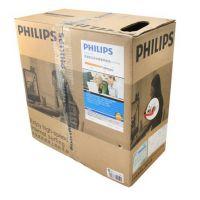 Philips/飞利浦网线特惠超五类非屏蔽SWA1931/93蓝色100米305米正品批发