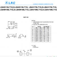 LRC开关二极管LBAW156LT1G