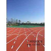 广州体育场橡胶跑道公司 荔枝纹橡胶跑道