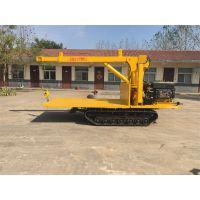 徐州群威ZDDY-3T小型履带吊车、园林履带运输车、果园运输车