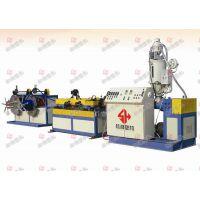 松湖机械PE、PVC单壁波纹管生产线
