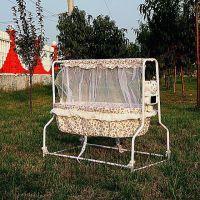 电动婴儿摇篮床婴儿床多功能bb床宝宝铁艺床智能自动摇摇床厂家