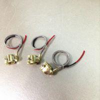 中德亿自产铜加热圈 全封闭式铜发热圈 小型铜发热圈 电热圈厂家