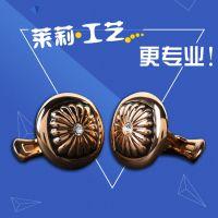 供应金属袖口法式扣定做,合金袖扣厂家,广州莱莉工艺制品
