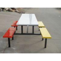 广州玻璃钢餐桌供应 塘厦学生食堂餐桌可送货安装休闲快餐桌