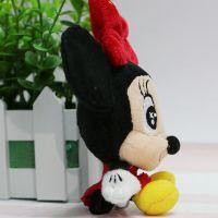 供应迪士尼吊饰毛绒米老鼠玩具吊饰 精美手机吊饰
