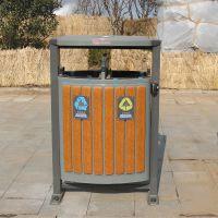 山东潍坊城市街道分类果皮箱/金属果皮箱/分类垃圾箱生产厂家