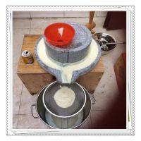 多功能电动石磨豆浆机 不锈钢米浆专用石磨机 供应商