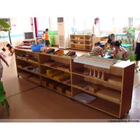 幼儿园实木柜子 实木学生床 学校家具