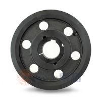沃尔沃发电机皮带轮采购spa75-02选无锡帛扬锥套皮带轮厂家