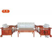鲁创红木家具厂家直销--江南之诗沙发