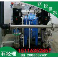 武汉自来水二次加压供水设备独有特点