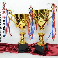 精兴工艺  羽毛球比赛 团体比赛奖杯 金属霸气奖杯
