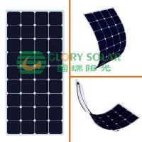 国瑞阳光厂家定制太阳能电池板 柔性太阳能发电组件板