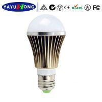 品质保证 5W正品室内螺口LED球泡灯 铝材灯体 色彩款式新颖