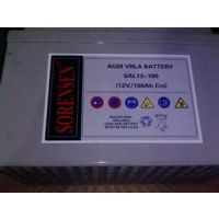 索润森蓄电池SGL12-65报价/尺寸