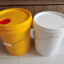 20公斤注塑塑料桶 20升PP防水涂料塑料桶 20L液体肥料注塑桶