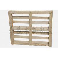 山东青岛木托盘厂家供应定做尺寸四面进叉松木熏蒸木托盘
