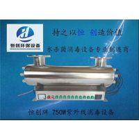 ZWX-恒创紫外线消毒器 供应天津市和平区小区二次供水消毒用紫外线消毒设备