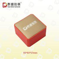 深圳厂家橙色纸质首饰盒 精美手镯盒 LOH-577