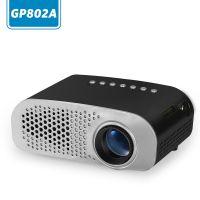 东锜新品LED家用投影仪 高清支持1080 微型投影仪电视游戏便携正投投影机