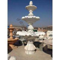 【星瀚雕塑】供应晚霞红喷泉。欧式喷水盆。花岗岩喷水石雕喷泉。风水球别墅摆件。庭院水池流水雕塑。
