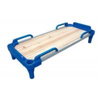 重庆幼儿园实木床塑料床上下铺折叠床组合床