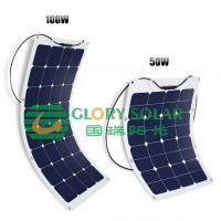 国瑞阳光sunpower柔性可弯折太阳能电池板 家庭光伏发电系统 solar panel